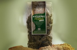 Schüttelbrot Nudeln mit Spinat